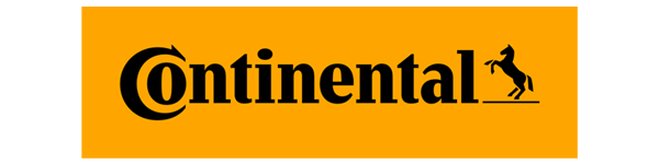 A small logo of Continental tyres