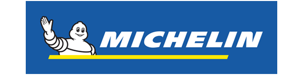 A small logo of Michelin tyres