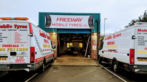 Contact Freeway Mobile Tyres